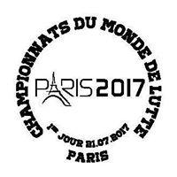 Timbre (France) - Championnats du monde de lutte 2017 à Paris (Lutte) 19989410
