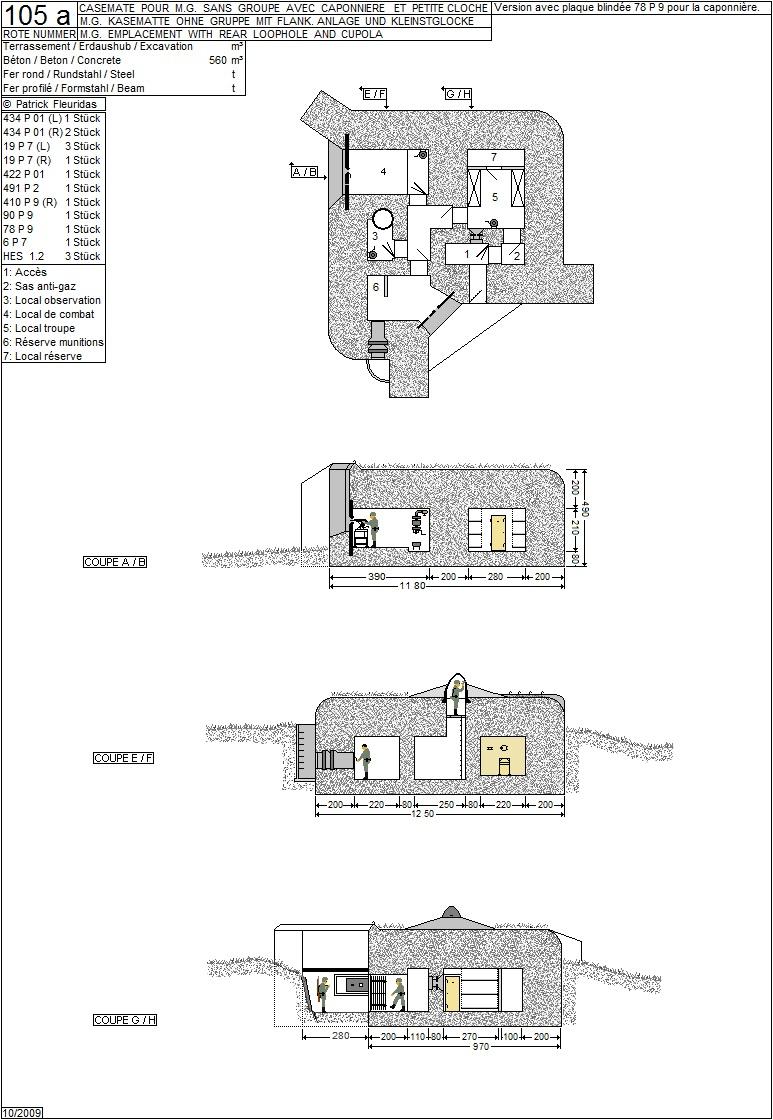 plans de bunker sur le mur de l'Atlantique 105_a12