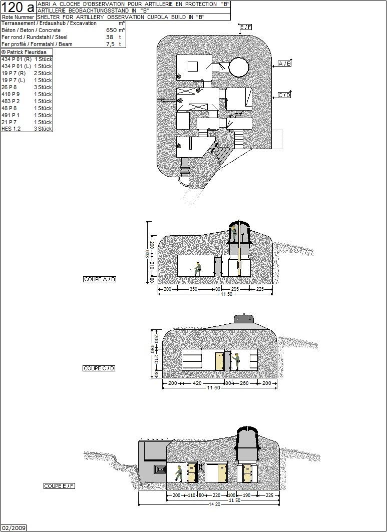plans de bunker sur le mur de l'Atlantique 120_a10