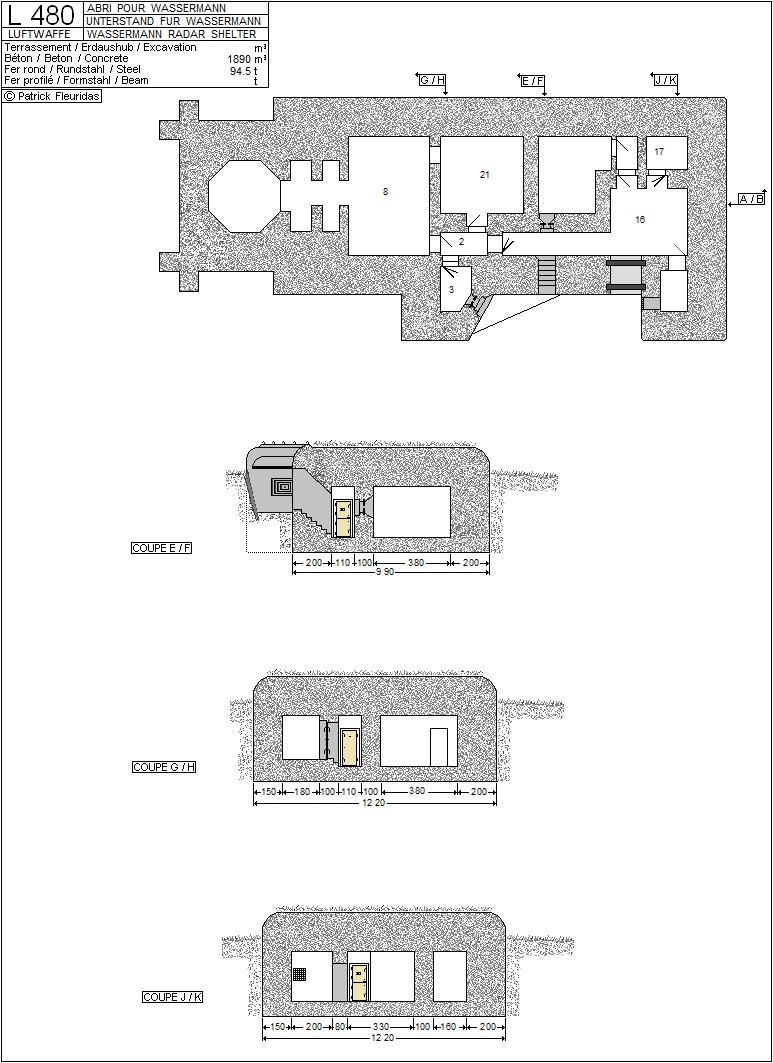 plans de bunker sur le mur de l'Atlantique L_480_11