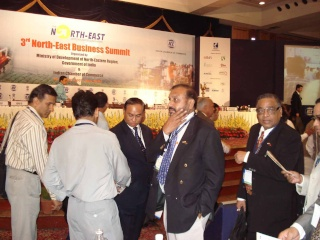 H.E U Kyi Thein attended the 3rd North East Business Summit H_e-at11