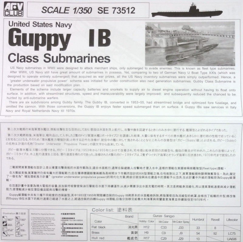 [AFV Club] Guppy IB 1/350 Guppy_12
