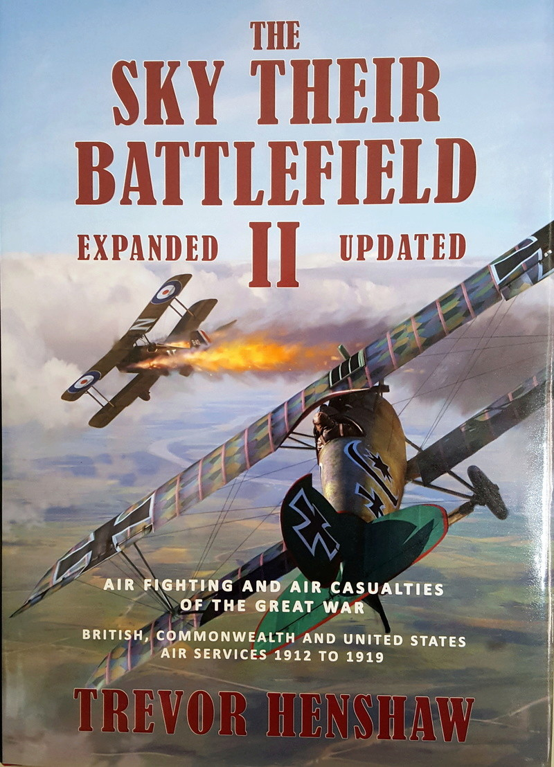 The Sky Their Battlefield II - Air fighting and air casualties of the Great War The_sk10