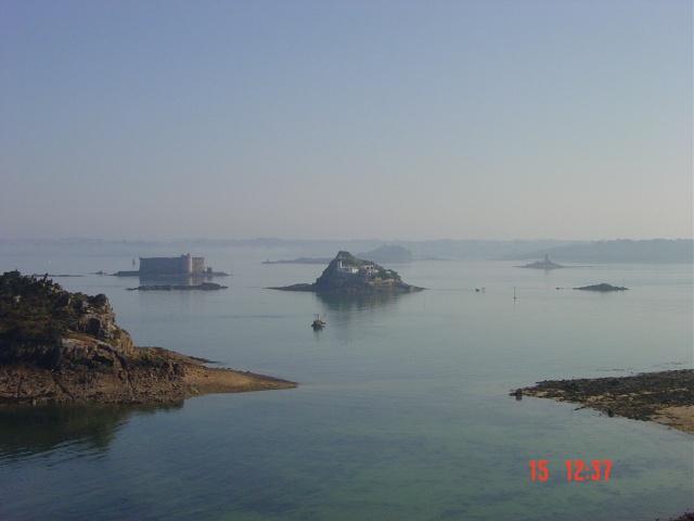 La baie de Morlaix  et le Chateau du Taureau Dsc03112