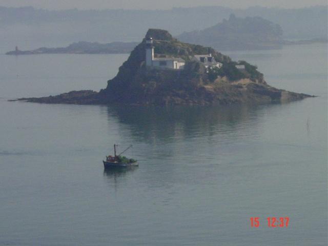 La baie de Morlaix  et le Chateau du Taureau Dsc03113