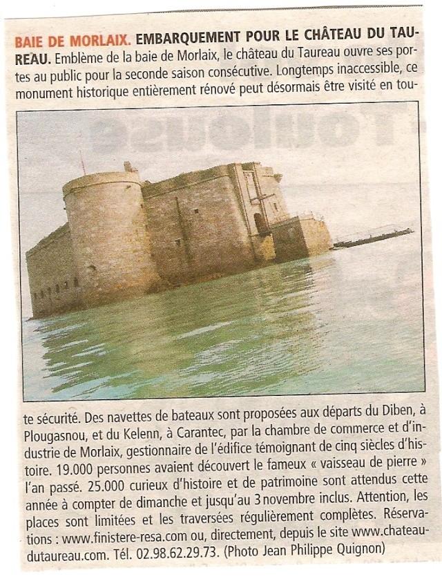 La baie de Morlaix  et le Chateau du Taureau Numeri15