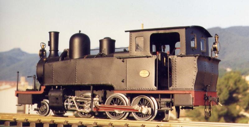 les 5 màquines St Léonard del tren d'Olot (FFCC de la Terrassa) File0011
