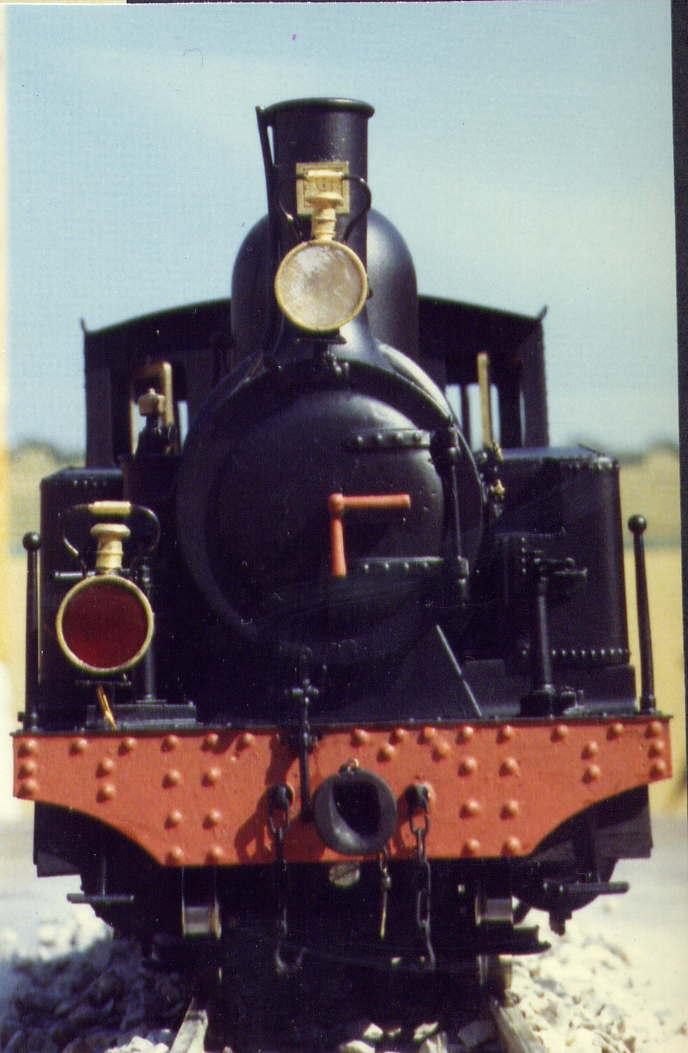 les 5 màquines St Léonard del tren d'Olot (FFCC de la Terrassa) File0012