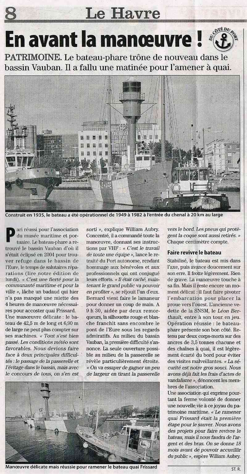 Havre - Le bateau-phare du Havre 2009-010