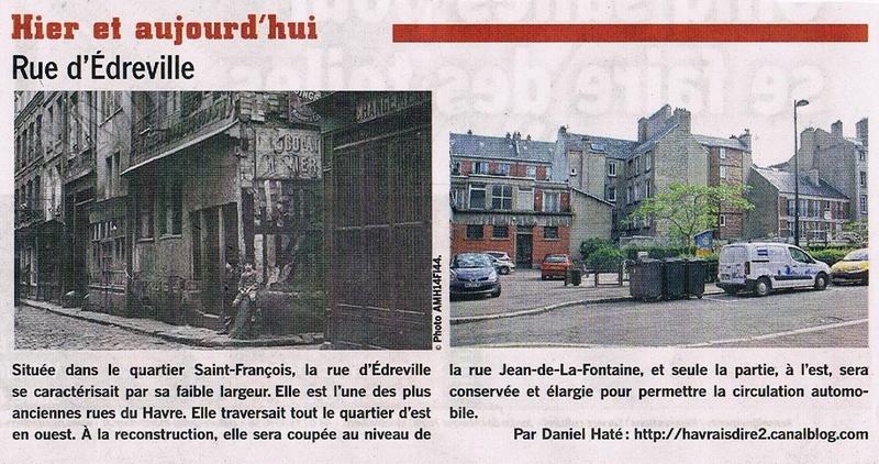 Havre - Le Havre - Rue d'Edreville (Saint-François) 2016-010