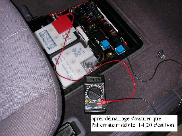 Mercedes classe A170 CDI ] Reportage photos d'une visite B ...