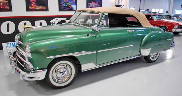projet Chevrolet 51 convertible terminée  1951-c10