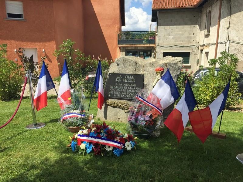 Plaque et monument de FEYZIN - Rhône Img_5213