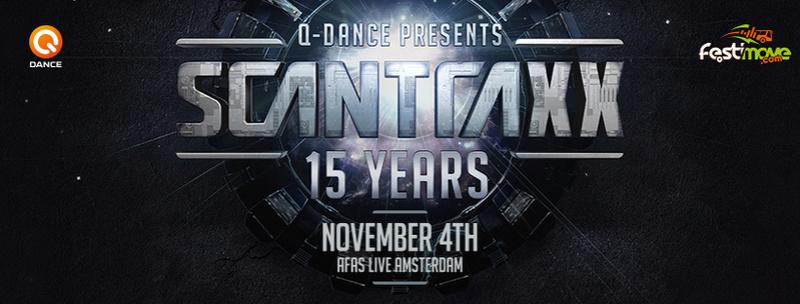 Q-dance presents: Scantraxx 15 Years - Samedi 4 Novembre 2017 - AFAS LIVE (Heineken Music Hall) - Amsterdam - NL   820x3110