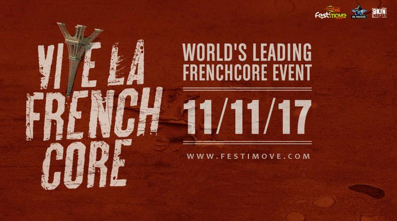 Vive la Frenchcore - Dr. Peacock invites - 11 Novembre 2017 - Event center Culemborg - NL Vive_l10