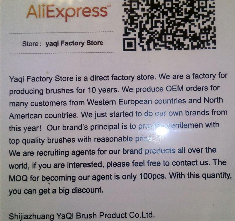 YAQI : Brosse synthétique de style Tuxedo la Balustre - Page 3 Img_2024