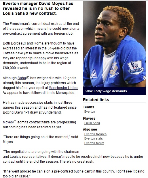 8. Louis Saha - King Twit-ter (Everton & Tottenham reject) - Page 5 Saha10