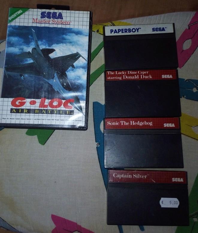 [VDS] jeux MASTER SYSTEM Sms110