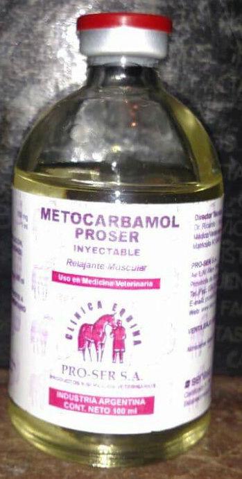 METOCARBAMOL - RELAJANTE MUSCULAR 100 ML  Relaja10