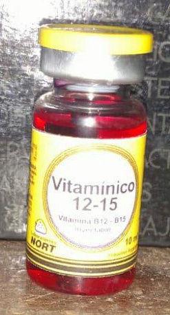 VITAMINICO B12 - B15 10 ML $ 12.000.- Vit12-10
