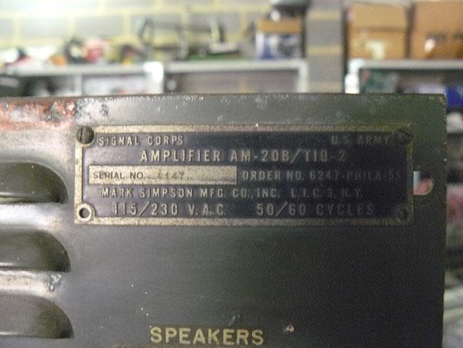 Amplificateur US Amplif12