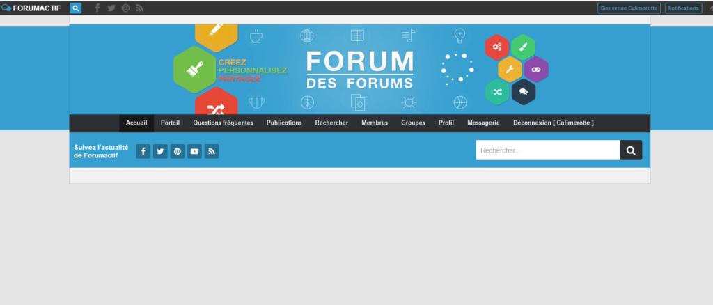 Page d'accueil indisponible aussi bien sur mon forum qu'ici... Pb211