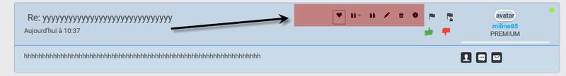 [MODERNBB] Changer les boutons dans l'édition d'un message 123