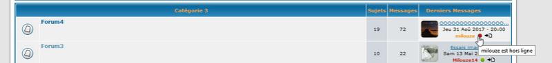 [PHPBB2] Afficher les membres en ligne (version graphique) sur l'index et dans la liste des sujets 150