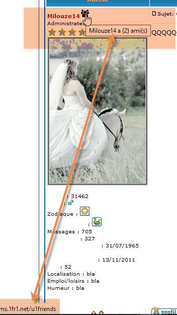 [PHPBB2] Afficher le nombre d'amis au survol d'une image placée à côté du Pseudo 161