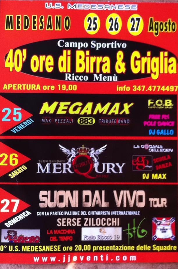 40 ORE di Birra & Griglia @ Medesano (PR) il 25-26-27 Agosto 2017 20881810