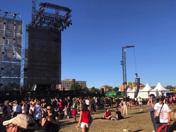 #ModenaPark - IL SOUNDCHECK DI VASCO 2017 Modena19