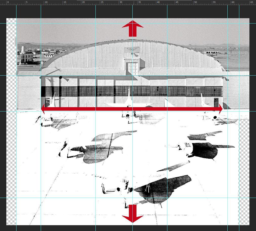 Hangar & tarmac du NACA, 1940's/50's (1:72) Captur11