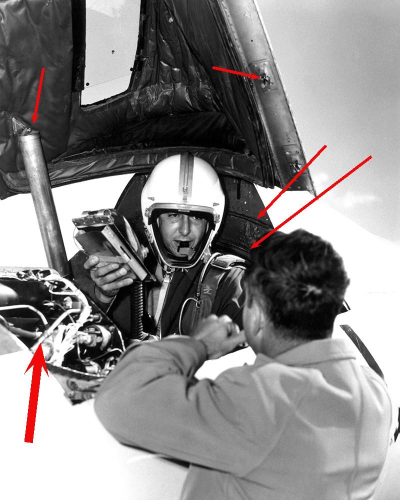 Douglas D-588-II ''Skyrocket'' casseur de Mach (1:72 Special Hobby) Cockpi11
