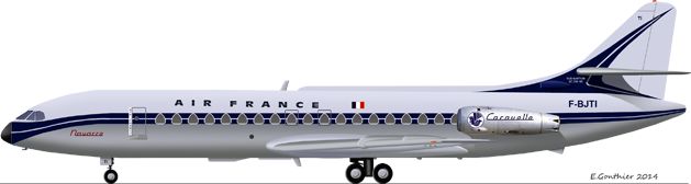 Sud Aviation SE-210 ''Caravelle'' (1:72 - MACH 2) F_bjti10