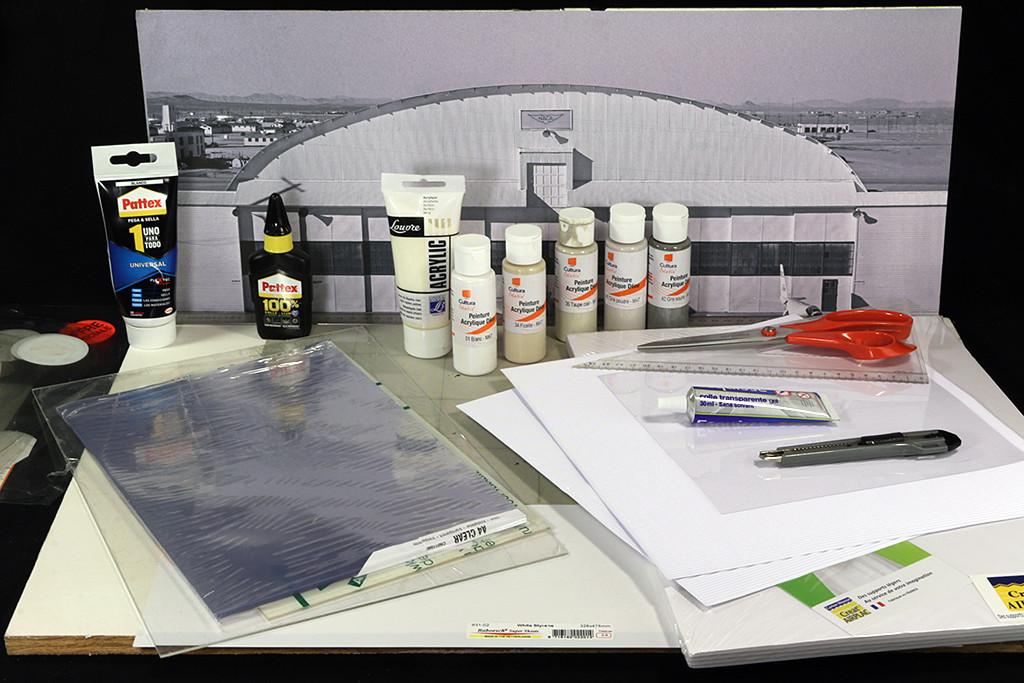 Hangar & tarmac du NACA, 1940's/50's (1:72) Img_2912