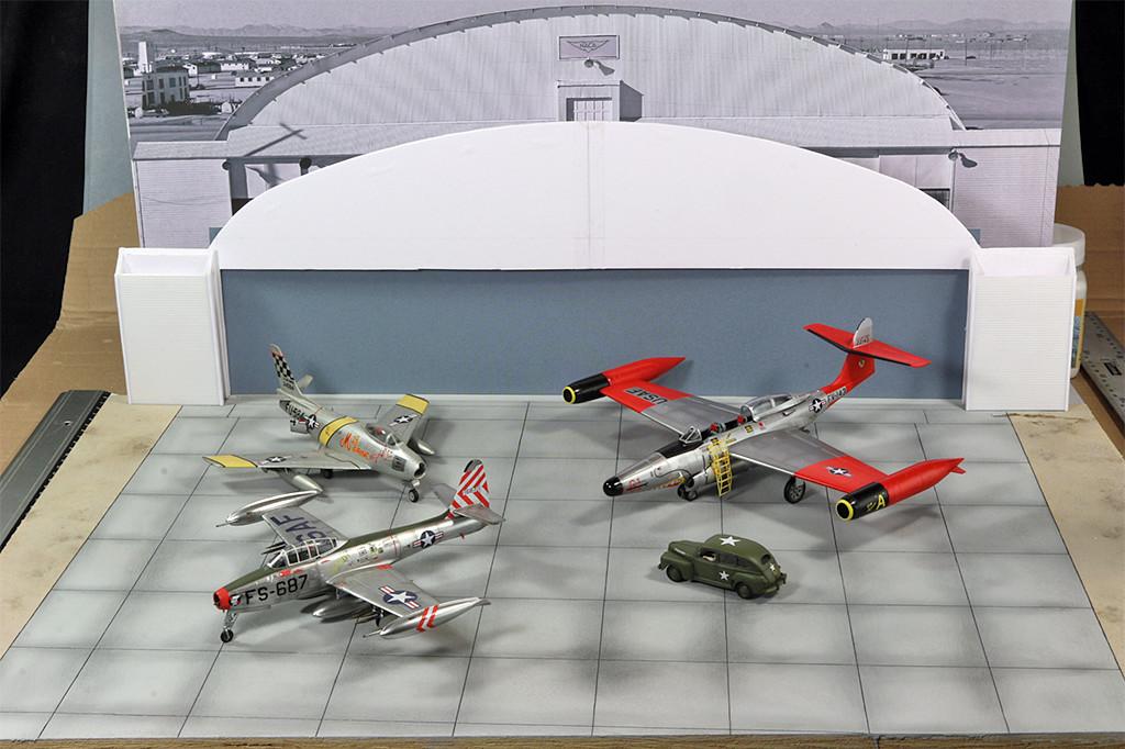 Hangar & tarmac du NACA, 1940's/50's (1:72) Img_3019