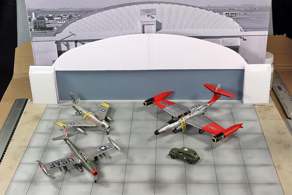 Hangar & tarmac du NACA, 1940's/50's (1:72) Img_3020