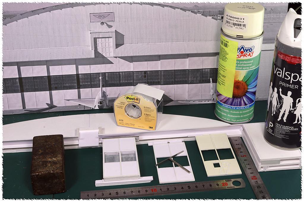 Hangar & tarmac du NACA, 1940's/50's (1:72) Img_3025