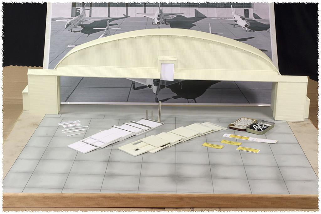 Hangar & tarmac du NACA, 1940's/50's (1:72) - Page 2 Img_3214