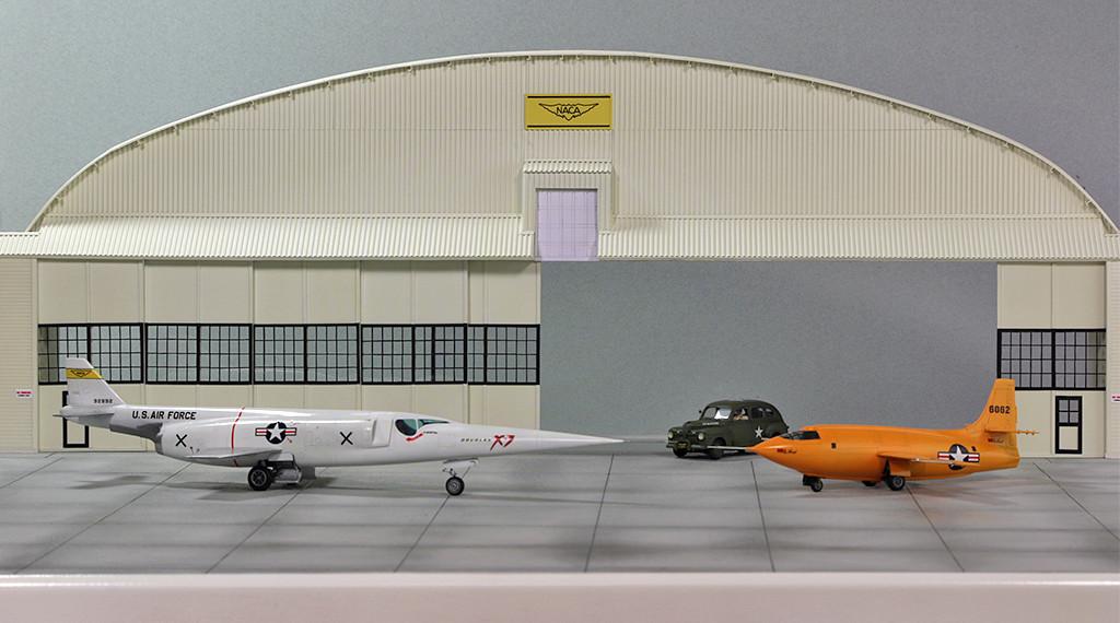 Hangar & tarmac du NACA, 1940's/50's (1:72) - Page 2 Img_3219