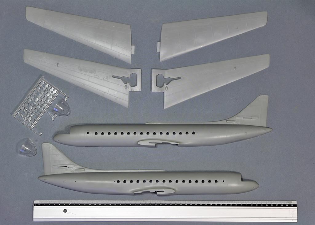 Sud Aviation SE-210 ''Caravelle'' (1:72 - MACH 2) Img_3355