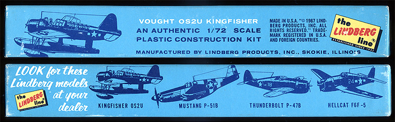"Vought OS2U ""Kingfisher"" (1:72 Lindberg) Tranch10"