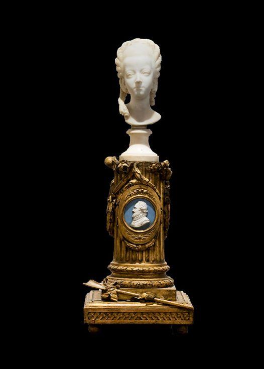 Buste de Marie-Antoinette sur piédestal dynastique, musée Cognacq Jay 20368810