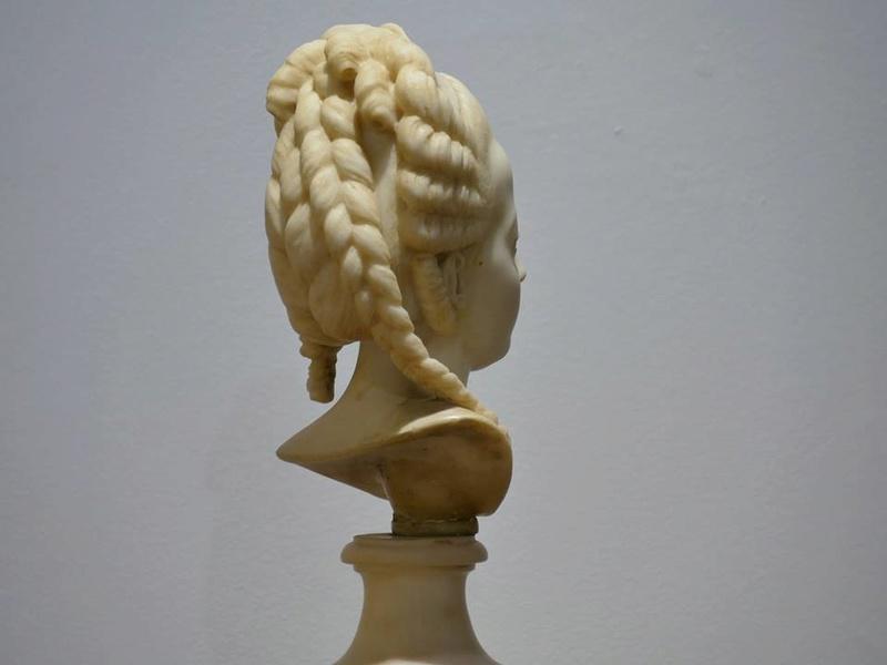 Buste de Marie-Antoinette sur piédestal dynastique, musée Cognacq Jay 20429710