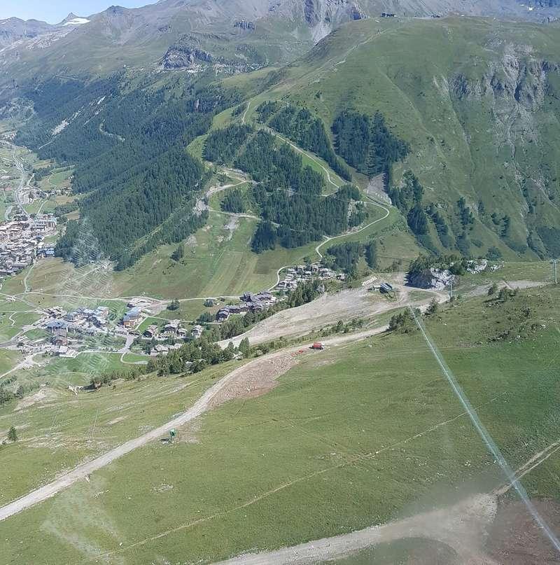 [Val d'Isère] Modifications/améliorations sur les pistes 20170811