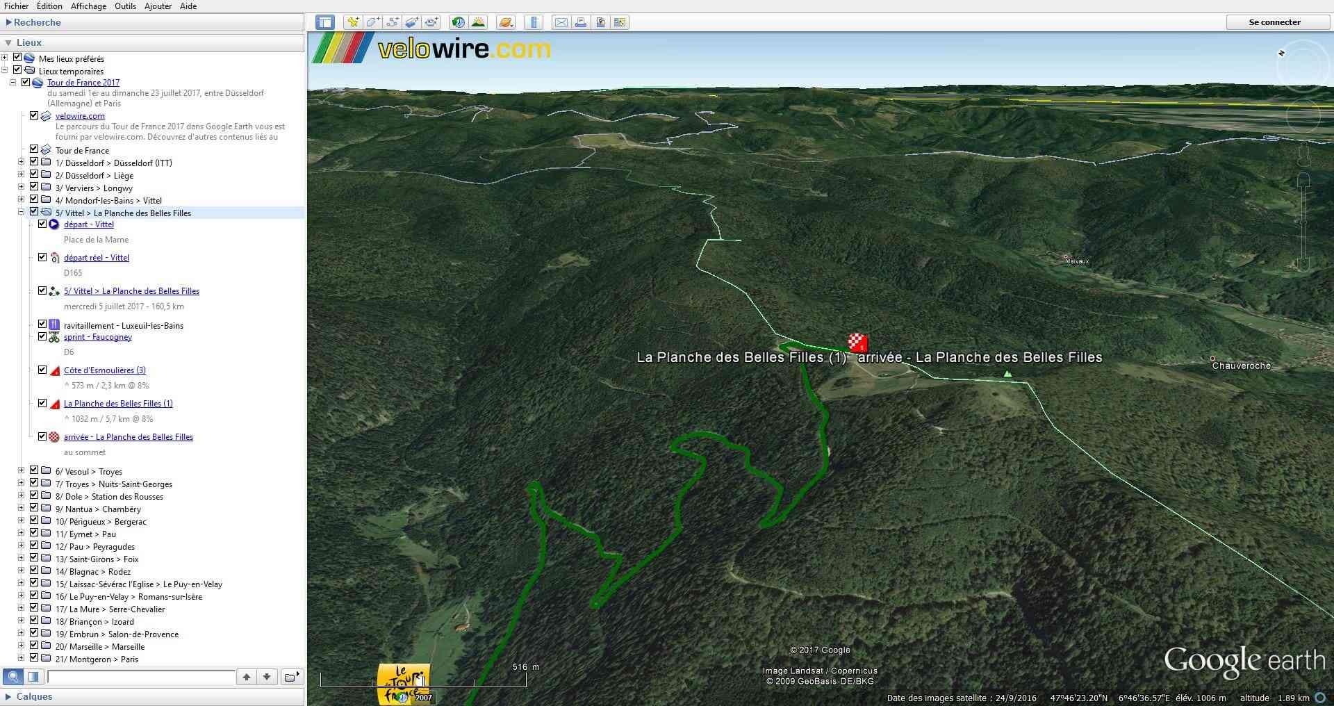 [KMZ] Le parcours du Tour de France 2017 dans Google Earth Tsge_030