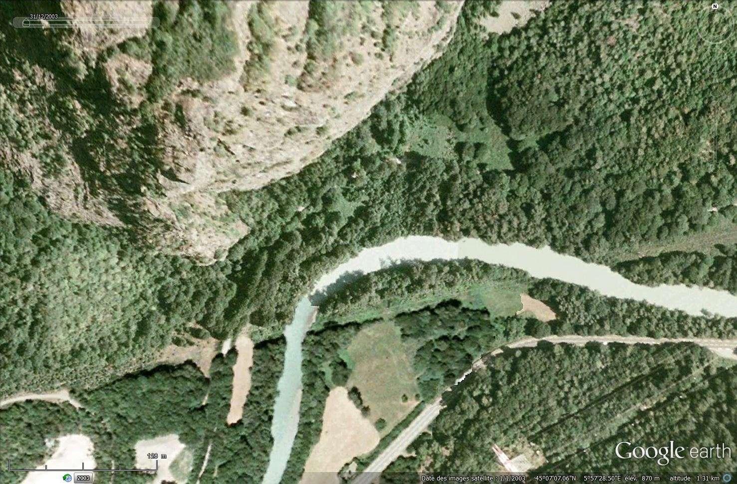 [Désormais visible sur Google Earth] - Le barrage hydroélectrique de Gavet sur la Romanche - Isère Tsge_193