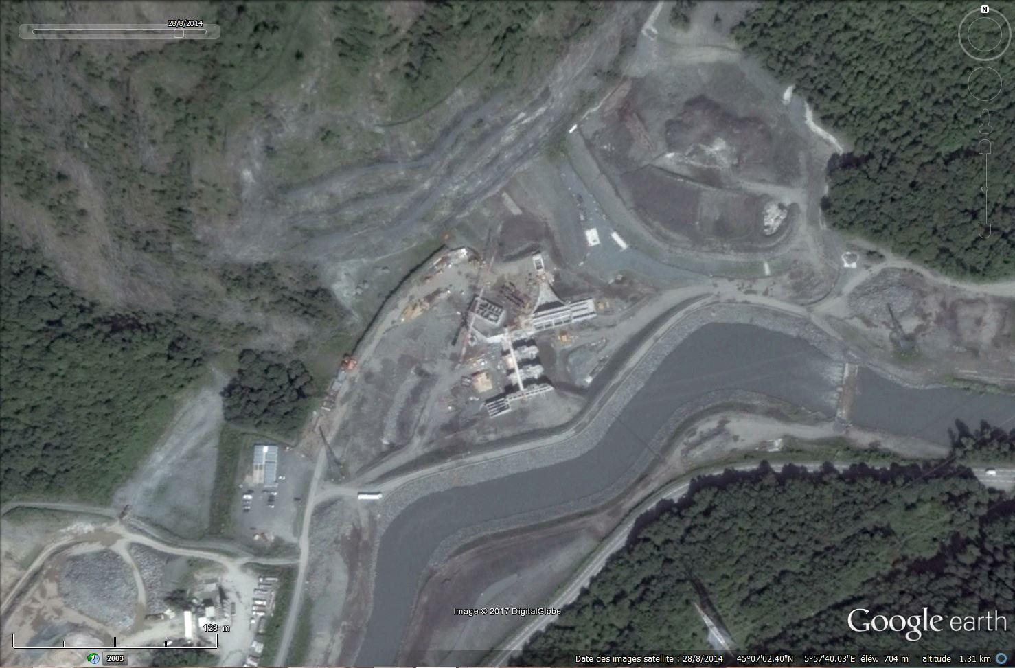 [Désormais visible sur Google Earth] - Le barrage hydroélectrique de Gavet sur la Romanche - Isère Tsge_194