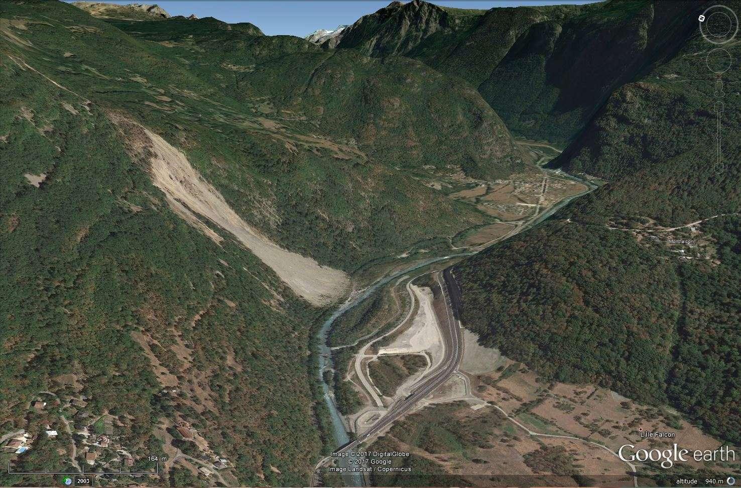 [Désormais visible sur Google Earth] - Le barrage hydroélectrique de Gavet sur la Romanche - Isère Tsge_196
