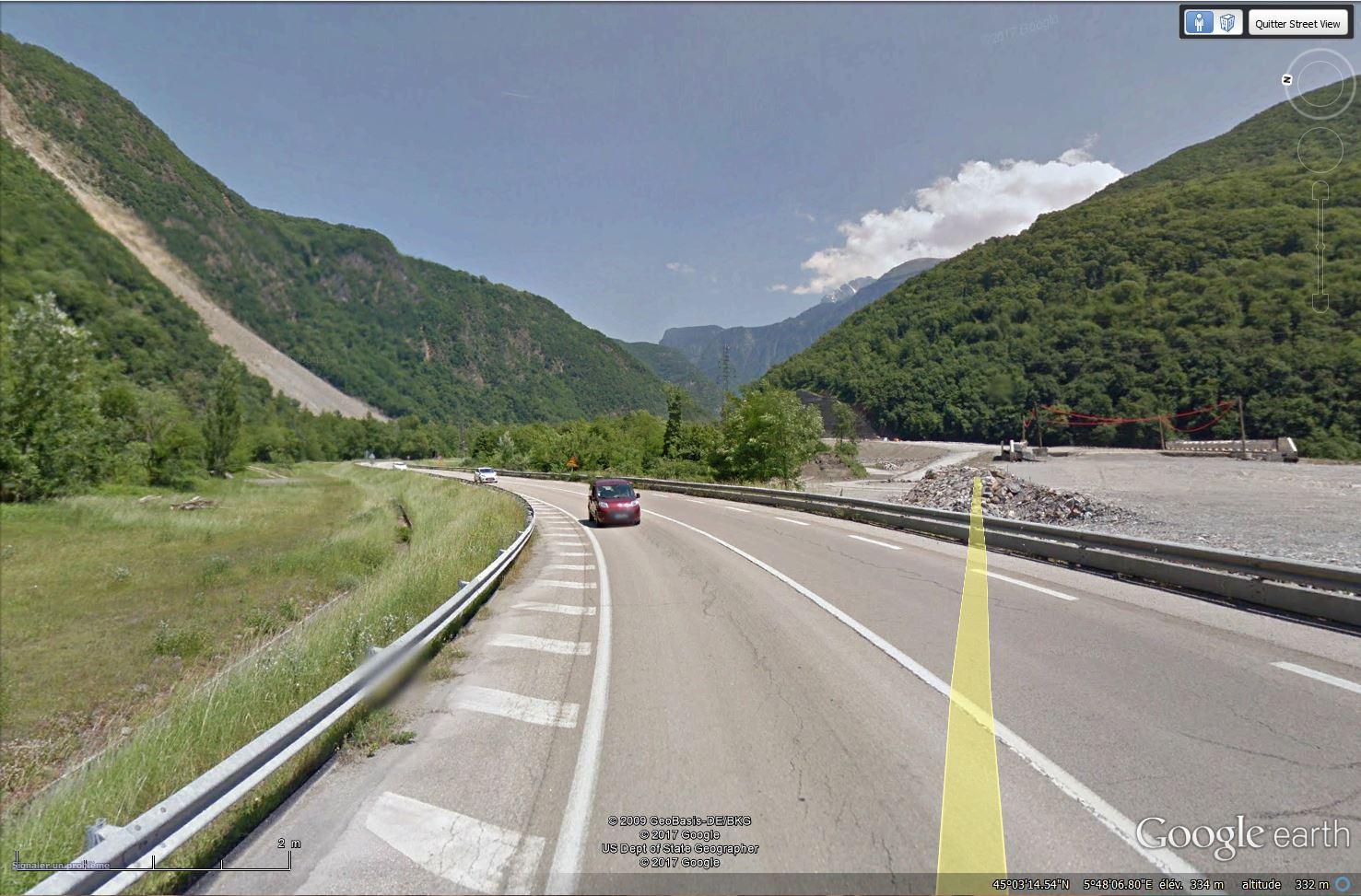[Désormais visible sur Google Earth] - Le barrage hydroélectrique de Gavet sur la Romanche - Isère Tsge_197
